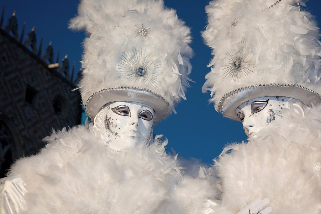 Carnival masks, Venice, Italy : Stock Photo
