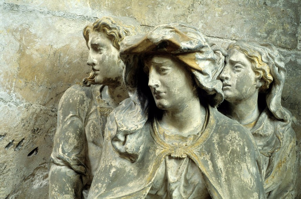 Stock Photo: 1566-1189494 La vierge Marie, Saint Jean et Marie Madeleine, sculpture de l´ecole troyenne,eglise Saint-Pantaleon,Troyes,Aube,region Champagne-Ardenne,France,Europe//Virgin Mary,St John and Mary Magdalene,Saint Pantaleon Church,Troyes,Aube department,Champagne-Ardenne. La vierge Marie, Saint Jean et Marie Madeleine, sculpture de l´ecole troyenne,eglise Saint-Pantaleon,Troyes,Aube,region Champagne-Ardenne,France,Europe//Virgin Mary,St John and Mary Magdalene,Saint Pantaleon Church,Troyes,Aube department,Champ