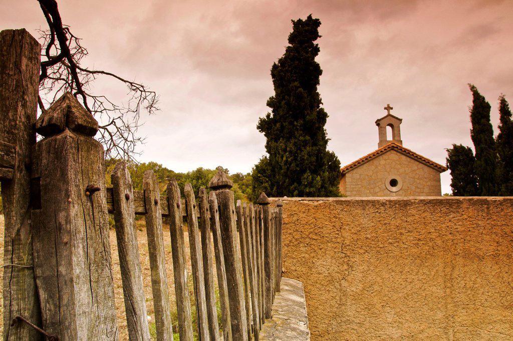 Betlem Hermitage, Artà nineteenth century Mallorca Balearic Islands Spain : Stock Photo