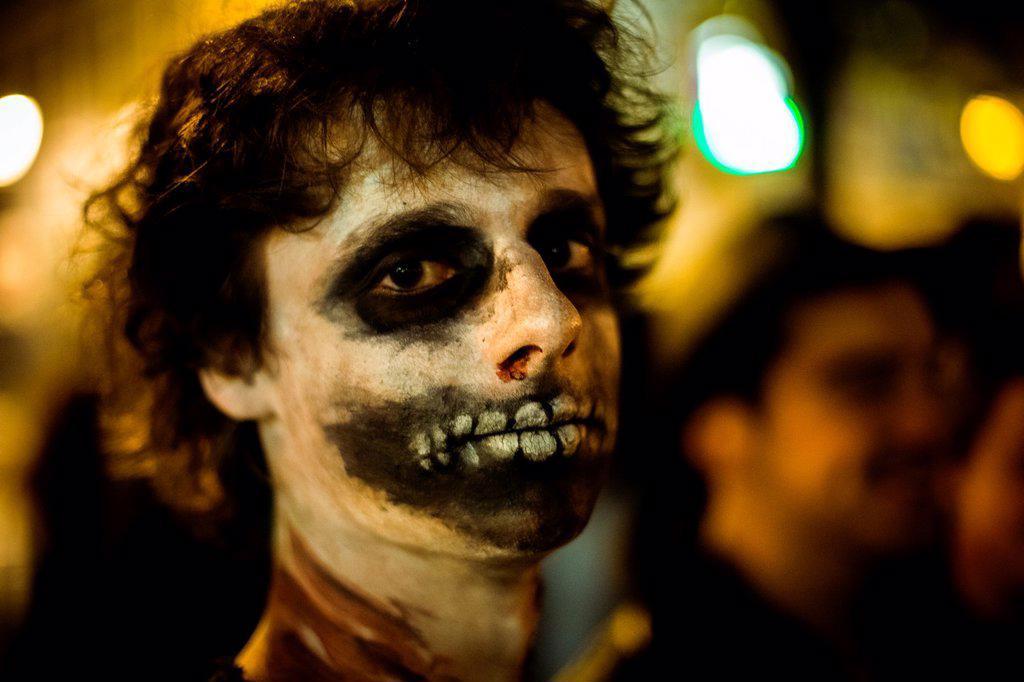 Stock Photo: 1566-1193250 Lisbon Zombie Parade 2012