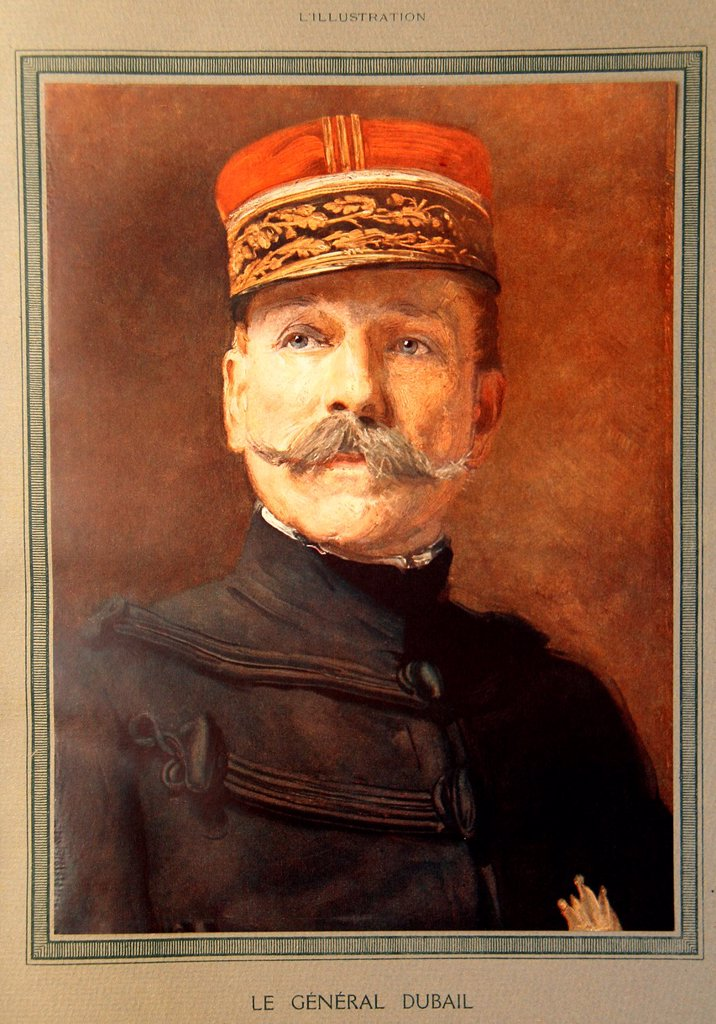 Stock Photo: 1566-1193443 Portrait of the famous french military man Augustin Dubail 1851-1934 general of the french army during the First World War