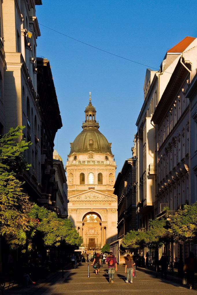 Hungary, Budapest, daily life in centre town : Stock Photo