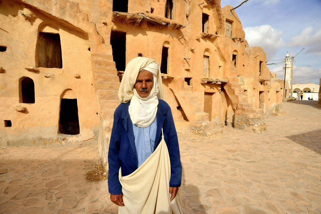 Ksar Ouled Soltane, Tataouine Province, Tunesia : Stock Photo