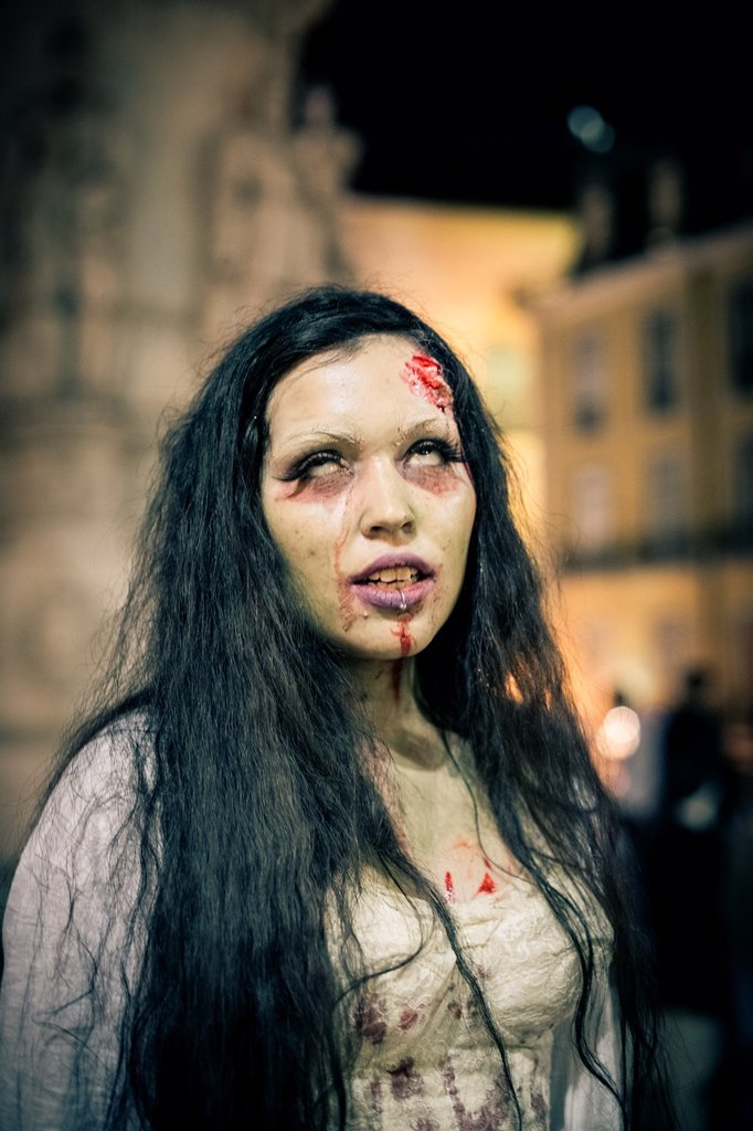 Stock Photo: 1566-1194091 Lisbon Zombie Parade 2012