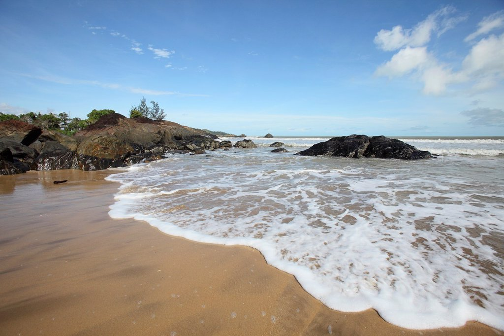 Stock Photo: 1566-1195095 Scenery of Pandan Beach, Lundu, Sarawak, Malaysia, Borneo
