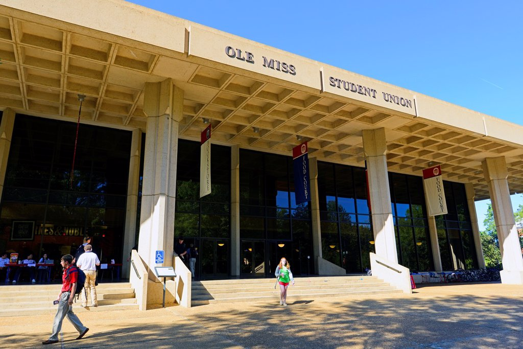 Student Union Ole Miss Campus University Oxford Mississippi MS : Stock Photo