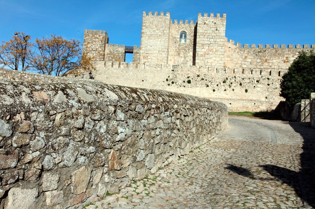 Stock Photo: 1566-1195910 Castle in Trujillo, Caceres province, Extremadura, Spain