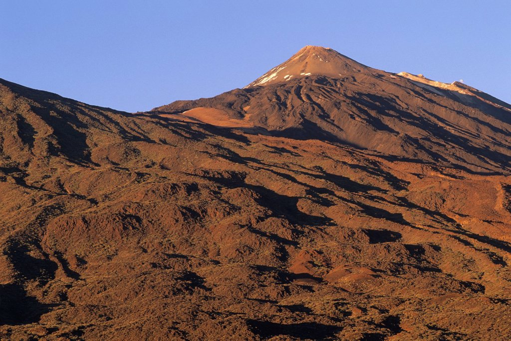 Caldeira de las Canadas, Mount Teide, National Park, Tenerife, Canary Islands, Atlantic Ocean : Stock Photo