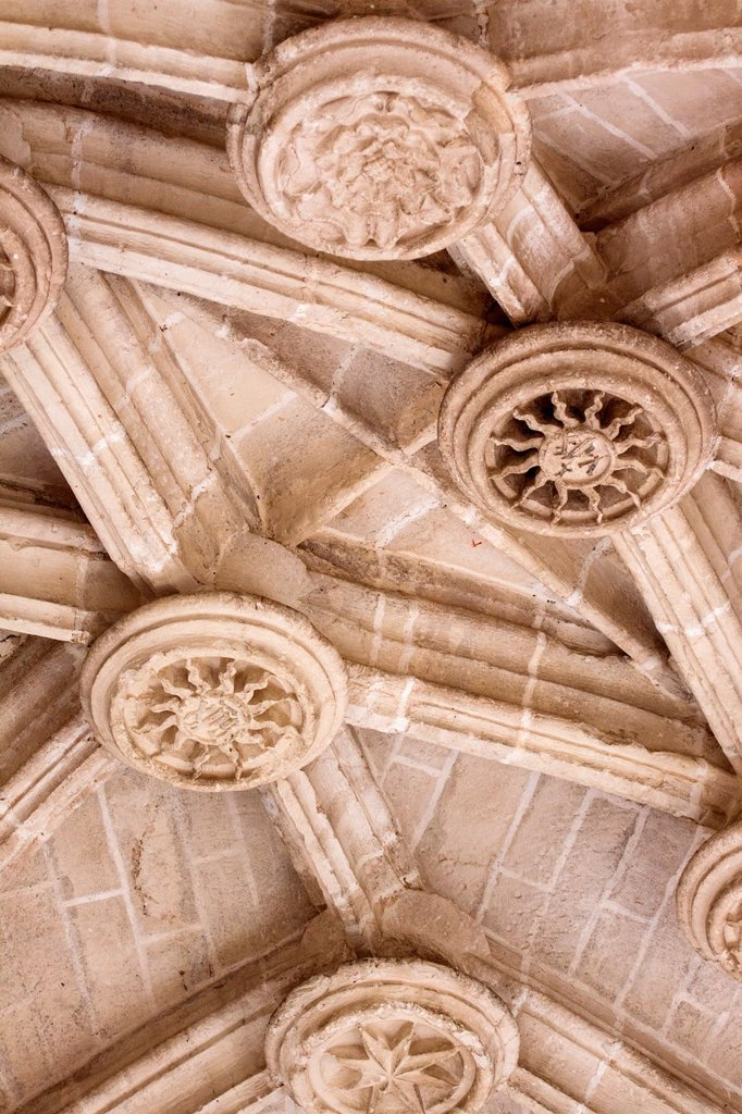 Stock Photo: 1566-1198535 Detalle de claves, Catedral de Santa María de Segovia