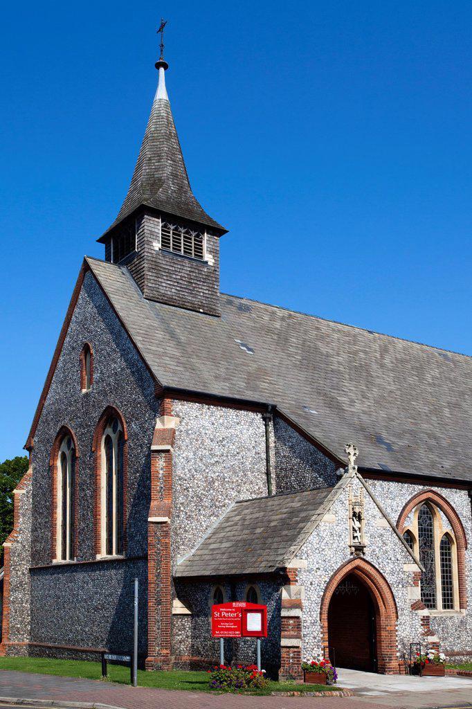Stock Photo: 1566-1199076 St Peters Parish Church Sheringham Norfolk England