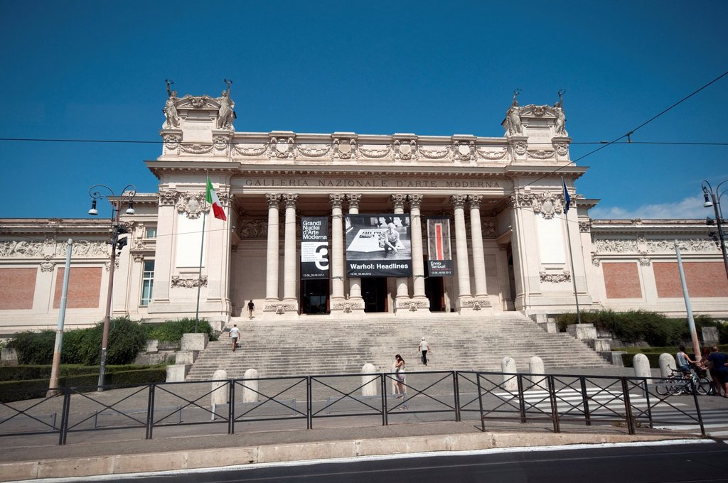 Stock Photo: 1566-1201092 Italy, Lazio, Rome, Galleria Nazionale d'Arte Moderna, National Gallery of Modern Art