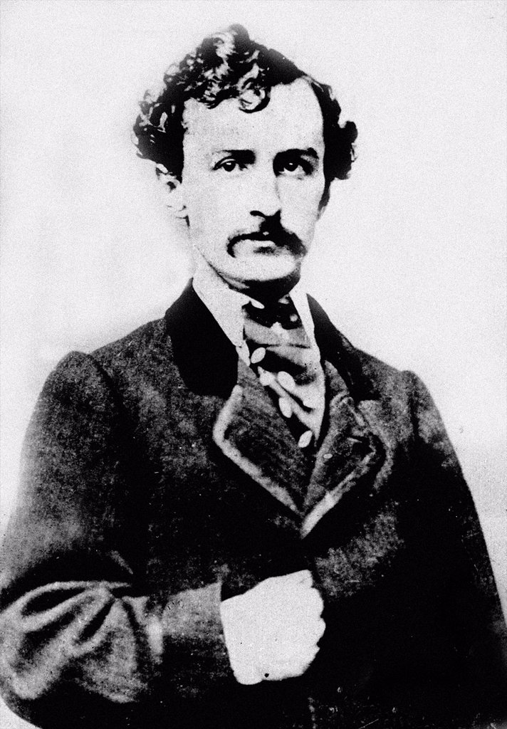 Stock Photo: 1566-1201989 John Wilkes Booth May 10, 1838– April 26, 1865 was an American stage actor who assassinated President Abraham Lincoln at Ford´s Theatre, in Washington, D C  , on April 14, 1865  Images from the Archives of Press Portrait Service - formerly Press Portrait. John Wilkes Booth May 10, 1838– April 26, 1865 was an American stage actor who assassinated President Abraham Lincoln at Ford´s Theatre, in Washington, D C  , on April 14, 1865  Images from the Archives of Press Portrait Service - formerly Pres