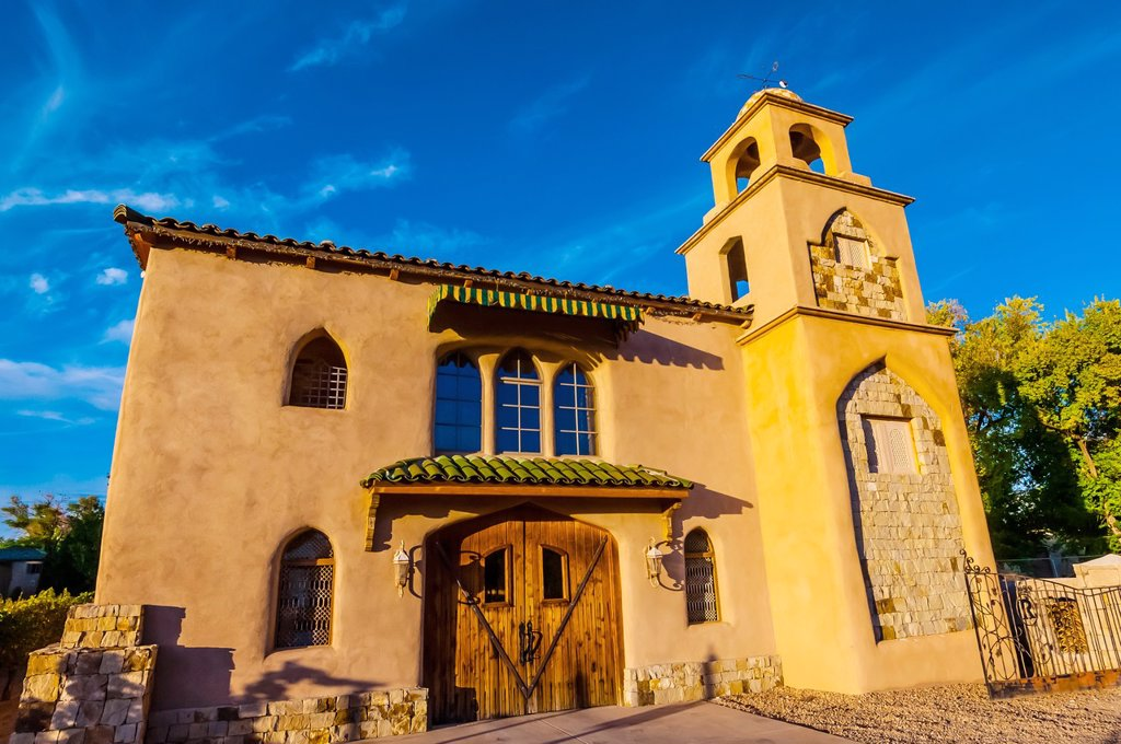 Casa Rondena Winery, Los Ranchos de Albuquerque metro Albuquerque, New Mexico USA : Stock Photo