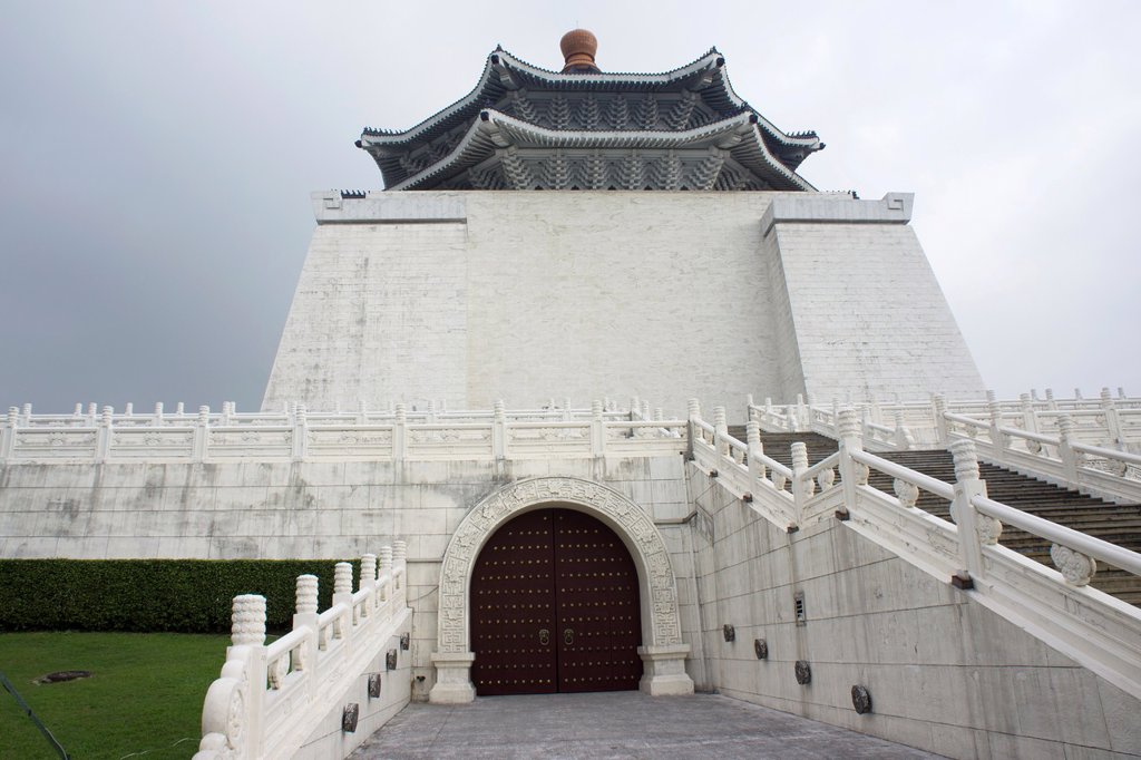 Chiang Kai Shek Memorial, Taipei, Taiwan : Stock Photo