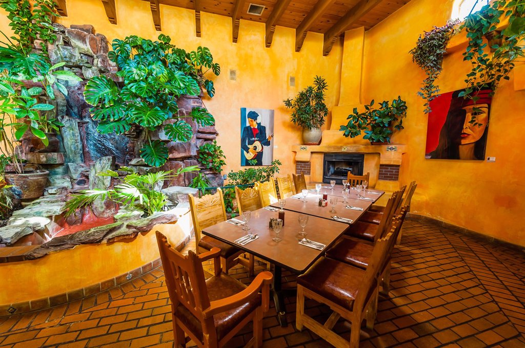 El Pinto Restaurant and Cantina, Albuquerque, New Mexico USA : Stock Photo