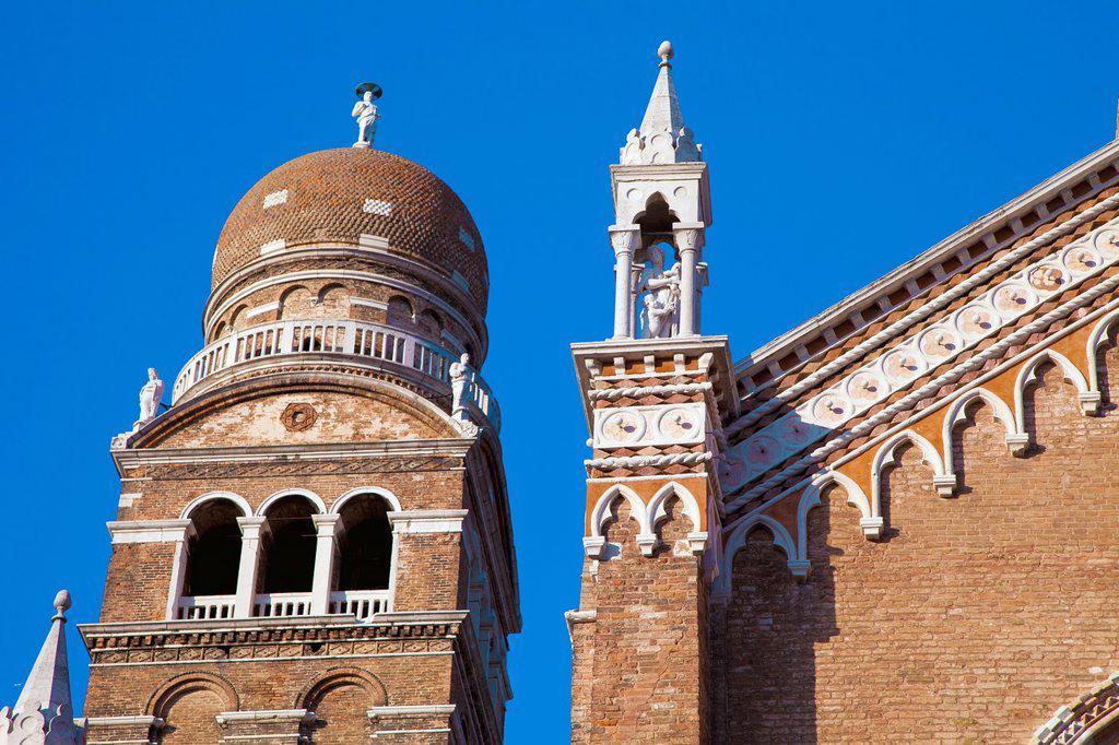 Stock Photo: 1566-1203786 italy, venice, cannaregio: Church of the Madonna dell Orto