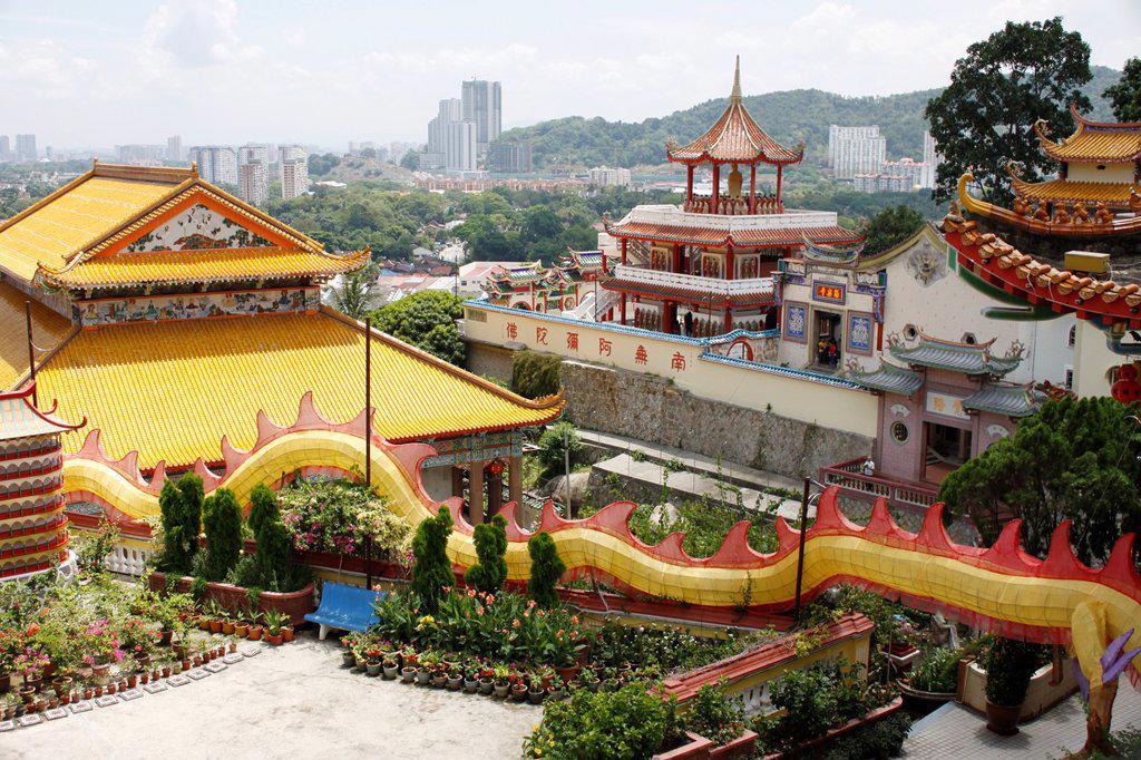 Stock Photo: 1566-1208219 Kek Lok Si Temple, Penang, Malaysia.