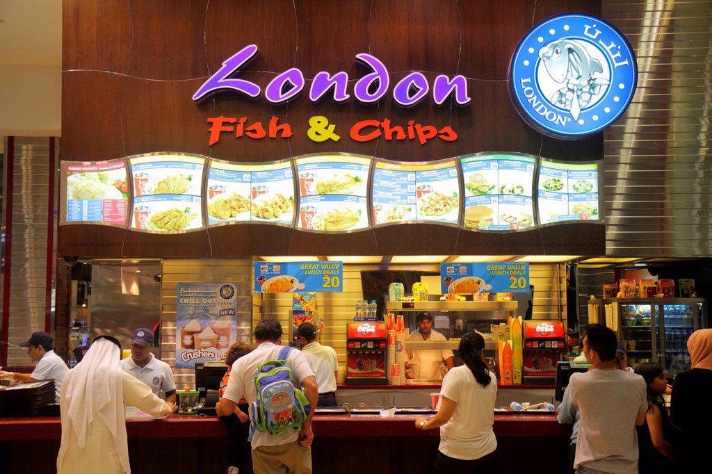 United arab emirates u a e uae middle east dubai for Fast food fish restaurants