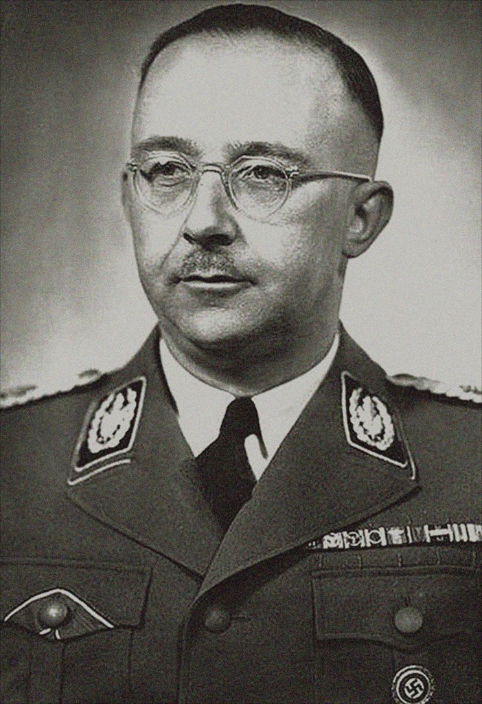 Heinrich Luitpold Himmler was Reichsfu¨hrer of the SS, a military commander, and a leading member of the Nazi Party  Image from the archives of Press Portrait Service : Stock Photo