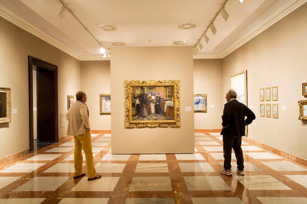 Stock Photo: 1566-1212370 Bilbao Fine Arts Museum. Bilbao. Bizkaia. Vizcaya. Pais Vasco. Euskadi. Basque Country. Spain.