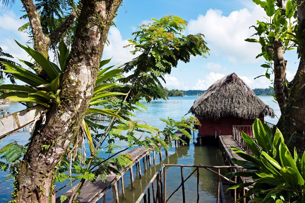 Stock Photo: 1566-1212515 Carenero island, Bocas del Toro province, Caribbean sea, Panama.