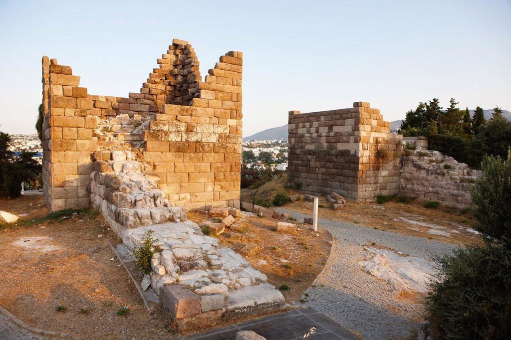 Stock Photo: 1566-1212653 Myndos Gate  Bodrum, Mugla province, Turkey