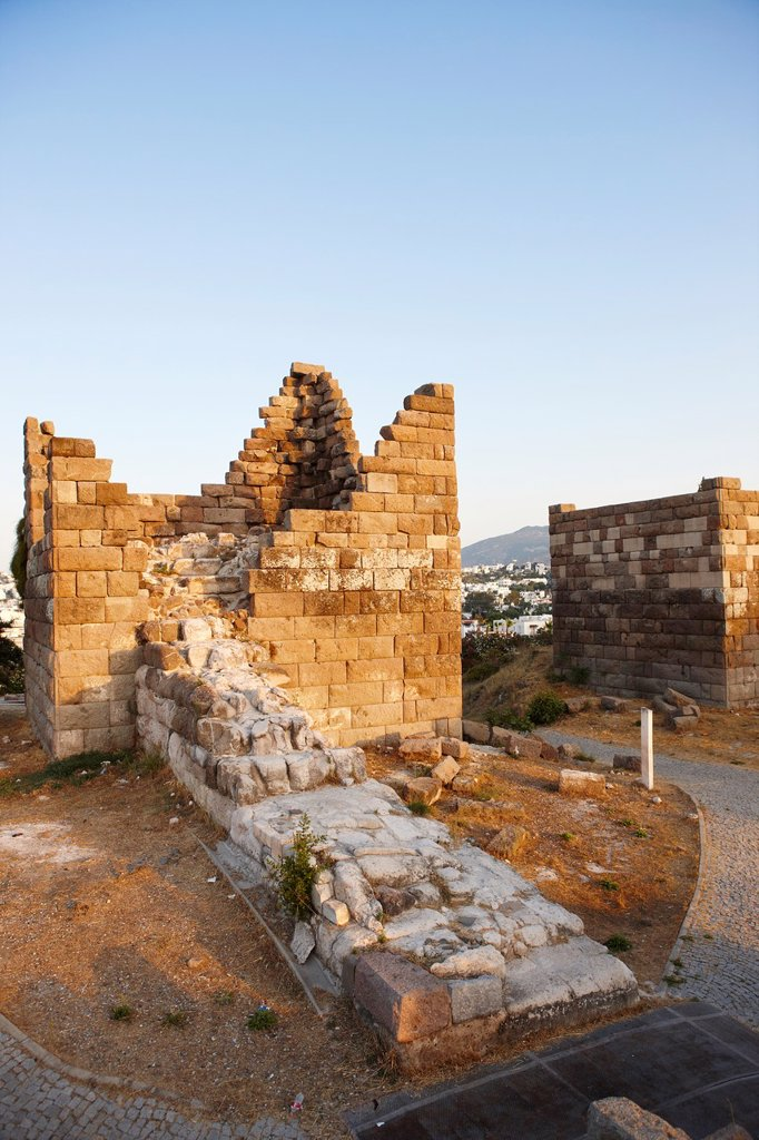 Stock Photo: 1566-1212654 Myndos Gate  Bodrum, Mugla province, Turkey