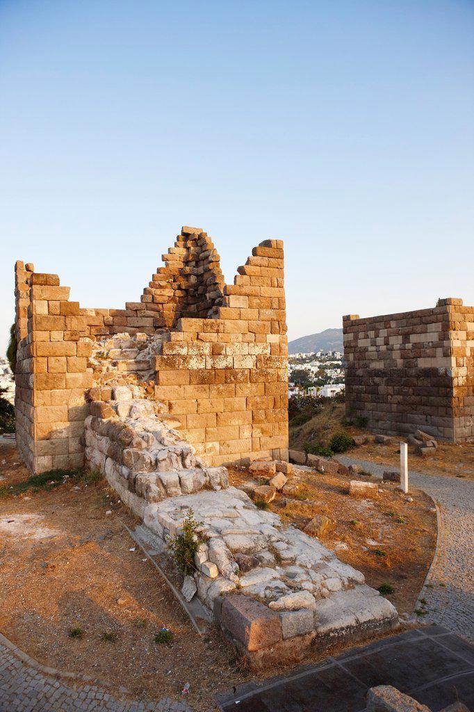 Myndos Gate  Bodrum, Mugla province, Turkey : Stock Photo