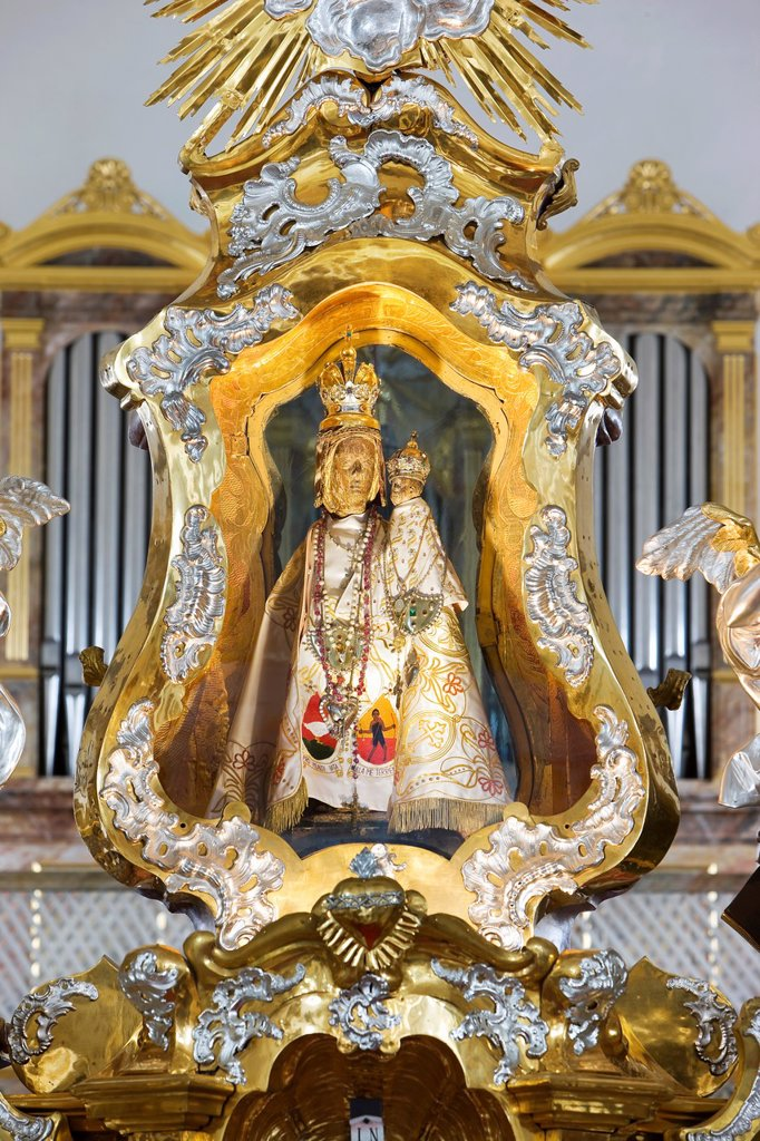 Stock Photo: 1566-1215606 Pilgrimage Church Neunkirchen hl. blood, Marian miraculous image