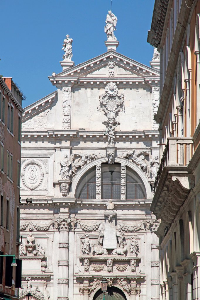 Stock Photo: 1566-1217021 San Moises Church, Venice, Veneto, Venetia, Italy