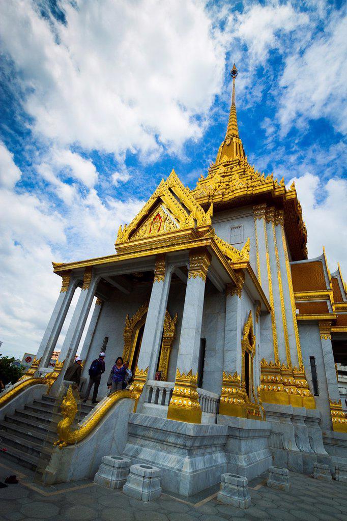 Stock Photo: 1566-1220657 Temple of Wat Traimit Golden Buddha  Bangkok, Thailand
