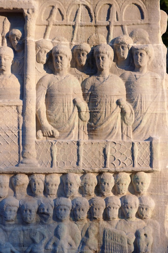 The base of the Egyptian Obelisk of Thutmosis III, a centre piece of the Roman Hippadrome, showing Roman spectators in the Hippadrome  Istanbul Turkey : Stock Photo