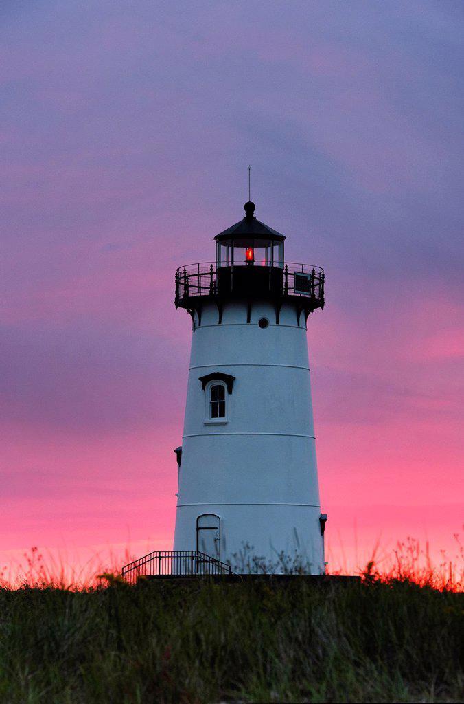 Stock Photo: 1566-1221401 Edgartown Lighthouse, Martha´s Vineyard, Massachusetts, USA