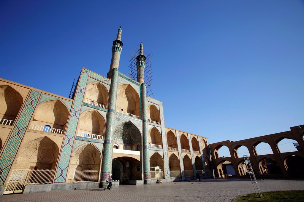 Stock Photo: 1566-1221538 Amir Chakhmaq complex, Yazd, Iran