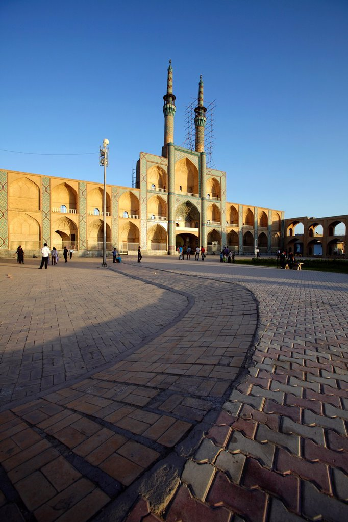 Amir Chakhmaq complex, Yazd, Iran : Stock Photo
