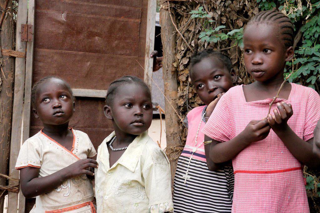 Stock Photo: 1566-1223941 KENYA  Kakuma Refugee Camp, Turkana  The Nubian quarter   photo by Sean Sprague