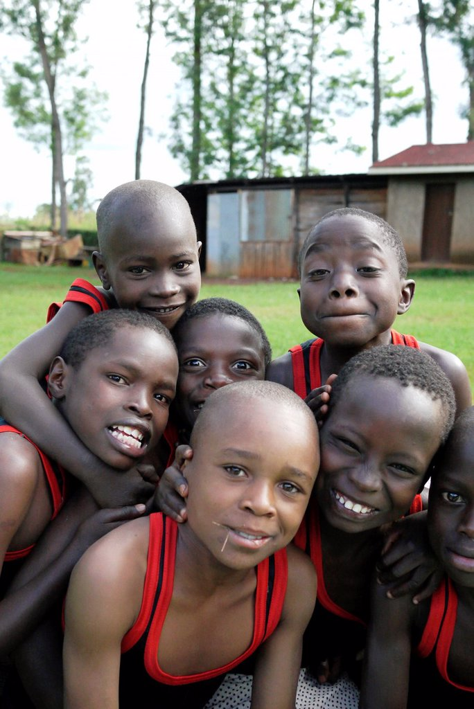 Stock Photo: 1566-1223955 KENYA  Don Bosco´s Home for Children   Turkana boys   photo by Sean Sprague