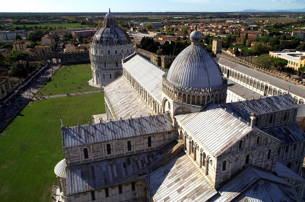 Stock Photo: 1566-1224222 Pisa Italy  Square of Miracles in the historic city of Pisa