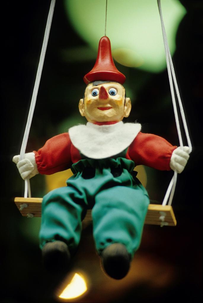 Stock Photo: 1566-1224232 marionette of Pinocchio, Tuscany, Italy, Europe