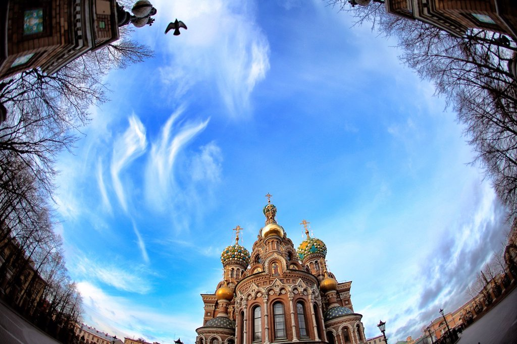 Stock Photo: 1566-1228477 Church of Our Savior on the Spilled Blood St, Saint-Petersburg, Russia