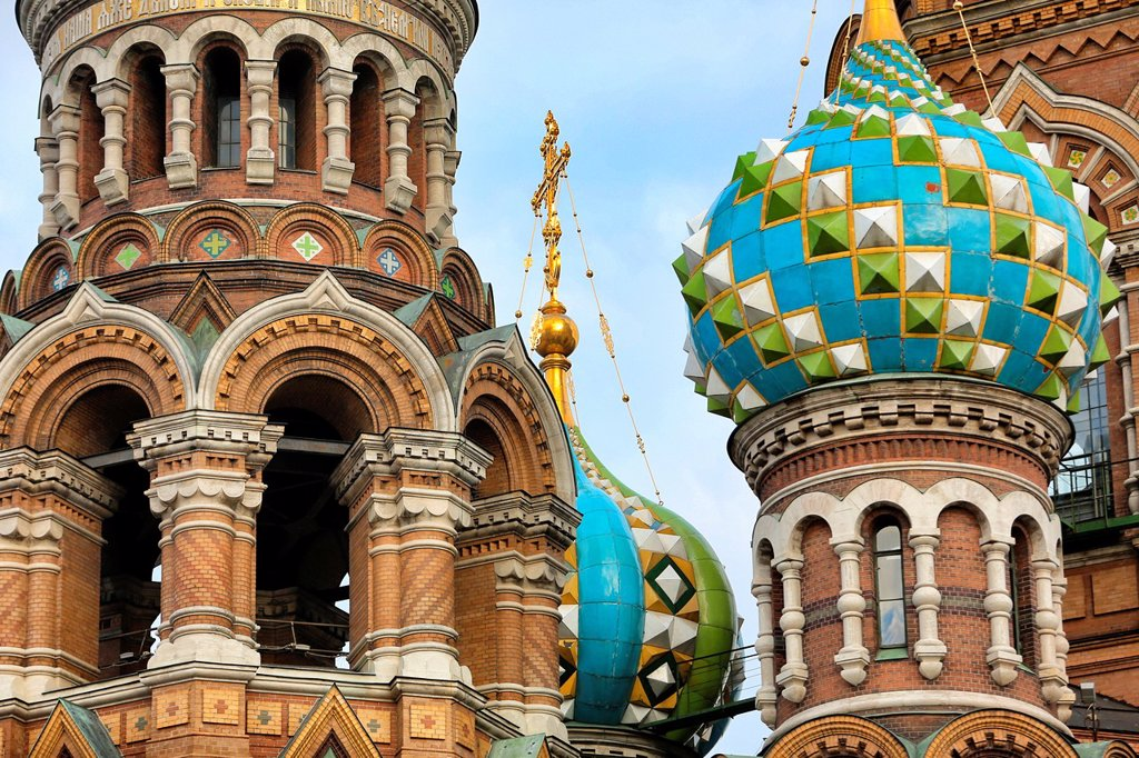 Stock Photo: 1566-1228488 Church of Our Savior on the Spilled Blood St, Saint-Petersburg, Russia