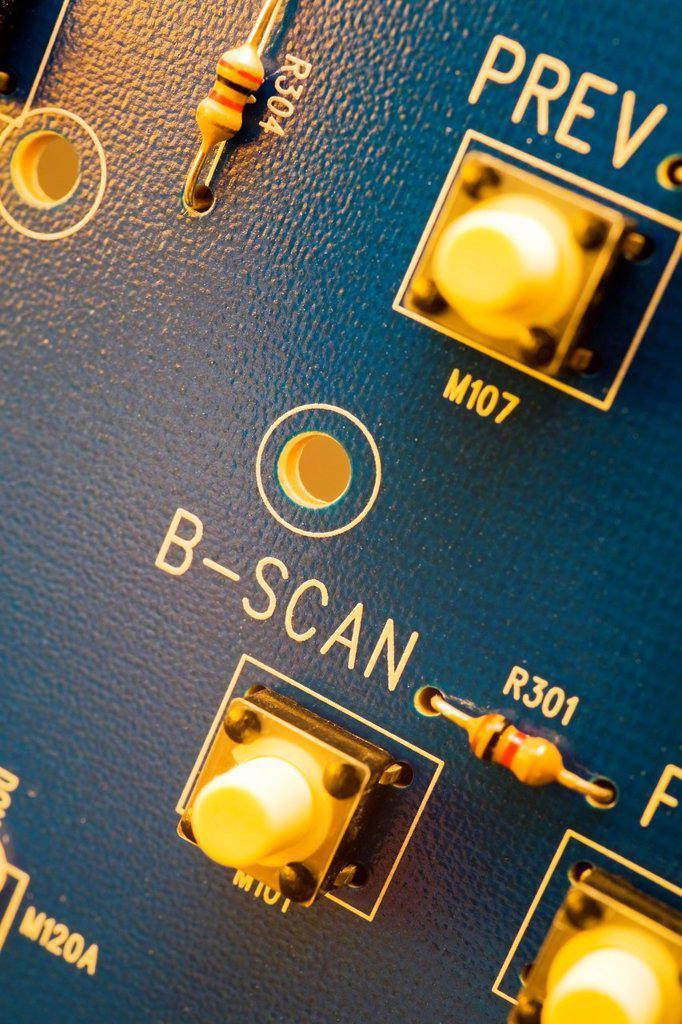 Computer circuit board, Studio Composition : Stock Photo