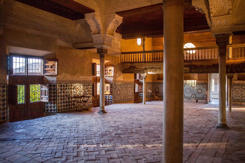 Stock Photo: 1566-1236122 Mexuar Hall Mexuar Nazaries palaces Alhambra, Granada  Andalusia, Spain