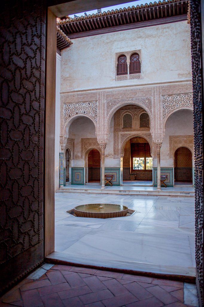 Cuarto Dorado  Nazaries palaces  Alhambra, Granada  Andalusia, Spain : Stock Photo