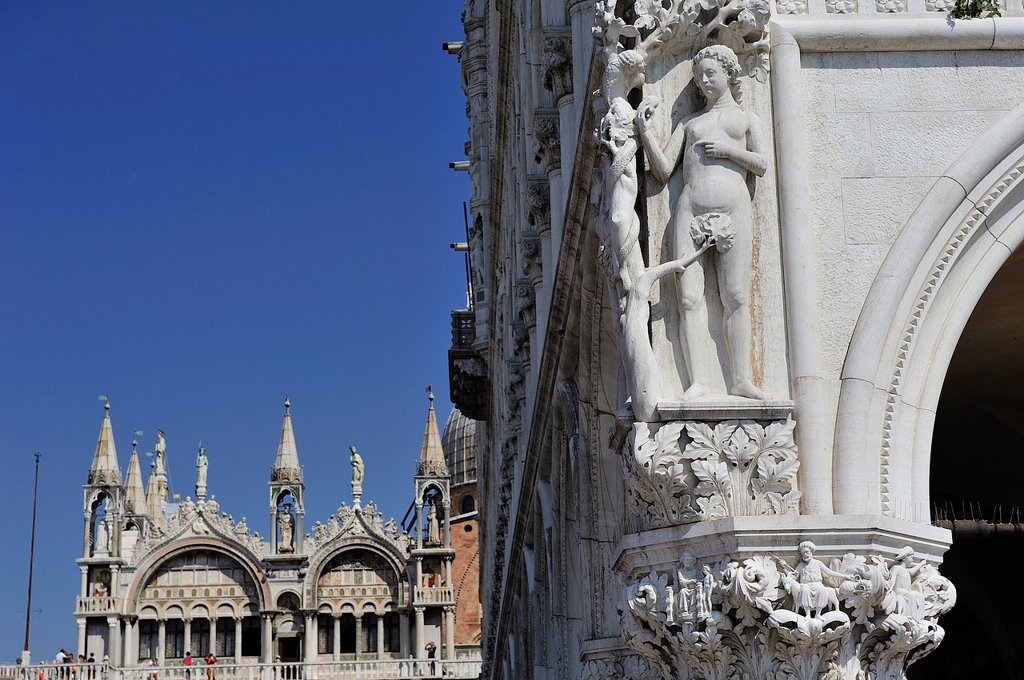 Stock Photo: 1566-1241880 San Marcos Square, Venice, Italy