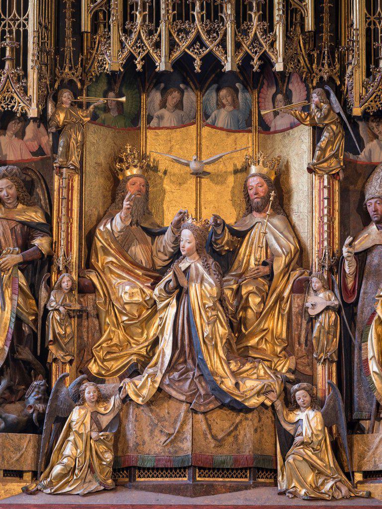 Famous Carved Altar Marienkroenungsaltar Pacheraltar By Carver