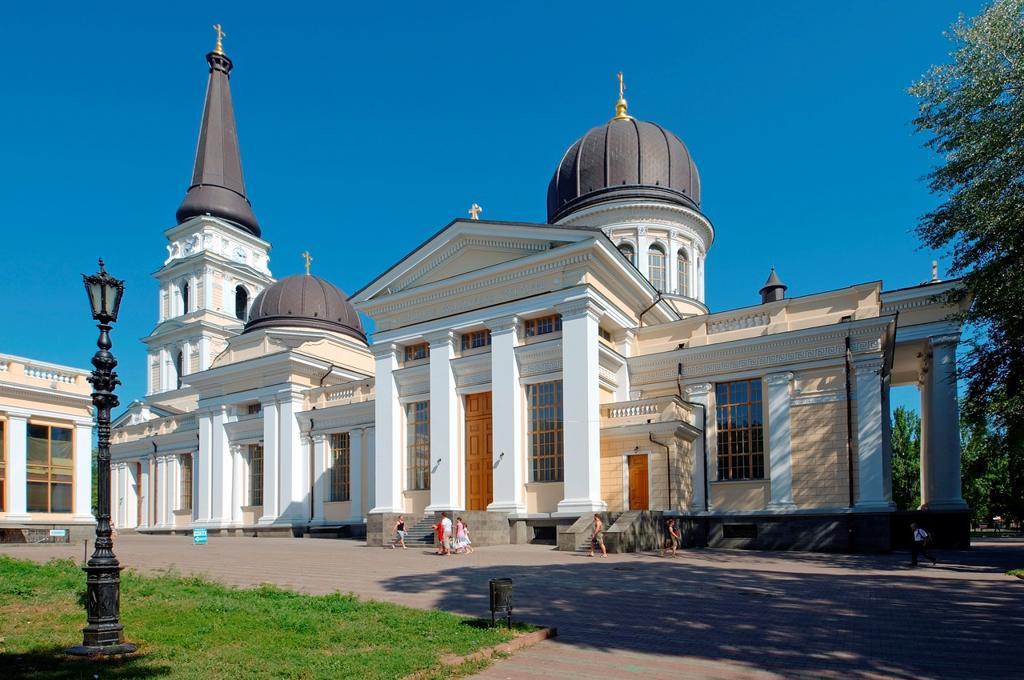 Stock Photo: 1566-1243936 Odessa Orthodox Cathedral or Spaso-Preobrazhensky Cathedral, Odessa, Ukraine, Europe