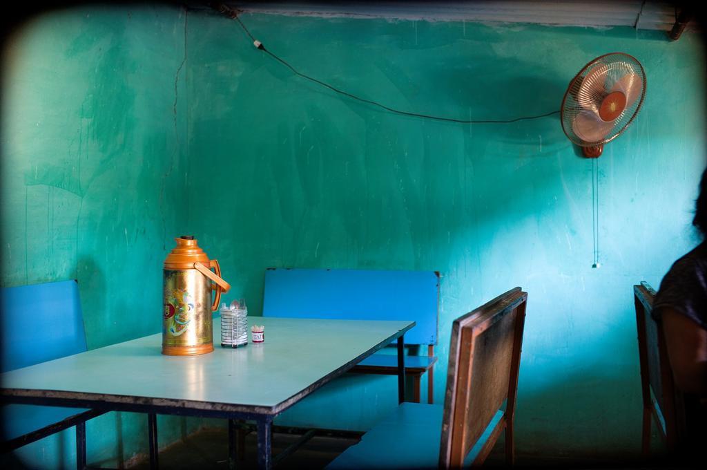 Interior of a bar in Mundgod, Karnataka, India, Asia, Interior of a bar in Mundgod, Karnataka, India, Asia, : Stock Photo