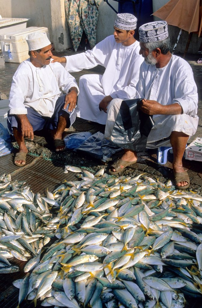 Stock Photo: 1566-1264592 Fish market. Mutrah-Muscat. Oman