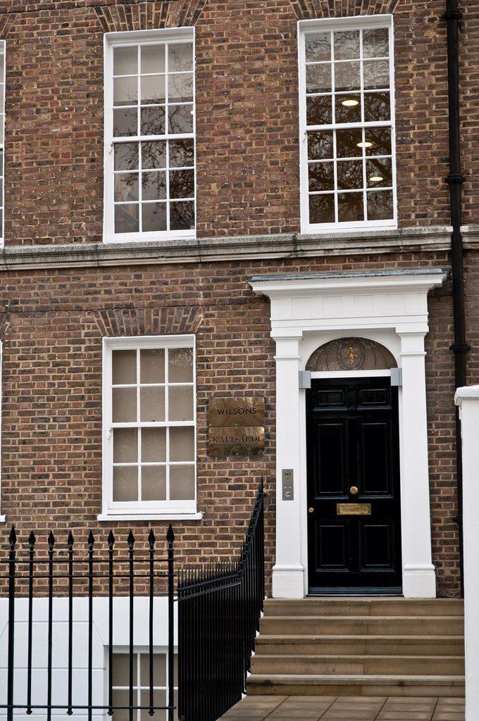 Wilson Rasipardi House on Lincoln's Inn Fields, London, UK. : Stock Photo